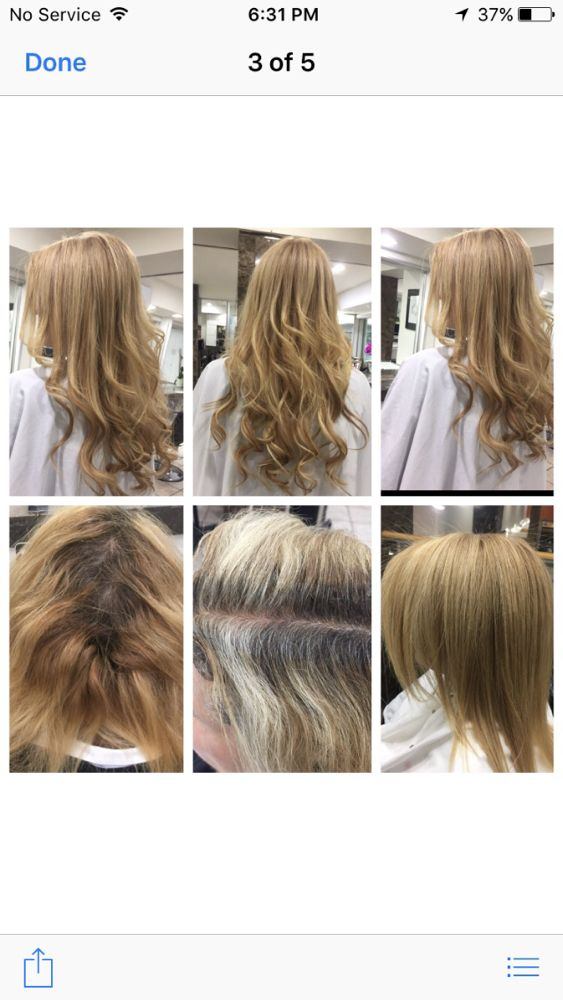Hair Extensions Slavic Russian Hair Color Correction Balayage