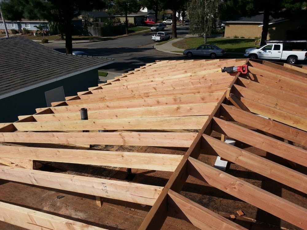Raise Flat Roof To Pitch Roof For Tile Application Yelp