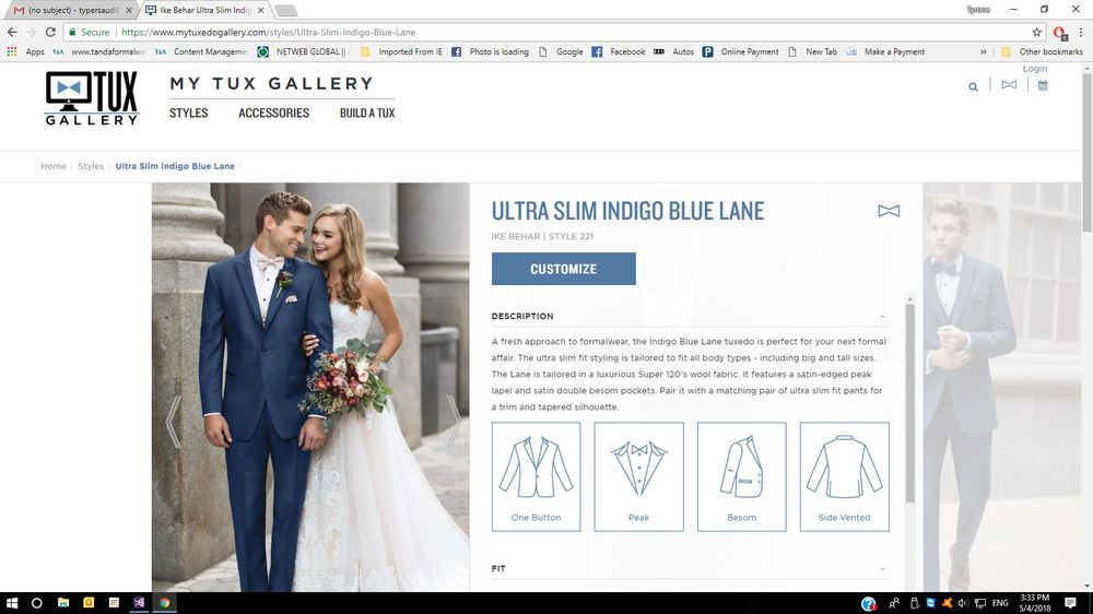 T & A Formal Wear & Alterations
