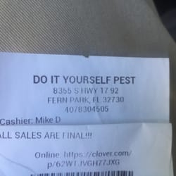 Do it yourself pest control pest control 8355 s us hwy 1792 photo of do it yourself pest control fern park fl united states solutioingenieria Image collections