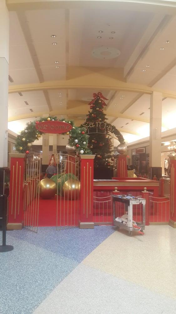 2015 Setting up for Santa at Green Acres Mall. - Yelp