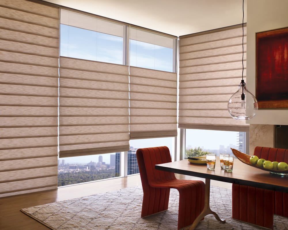 Top down bottom up roman shade - Photo Of Psi Window Coverings Scottsdale Az United States Hunter Douglas Vignette