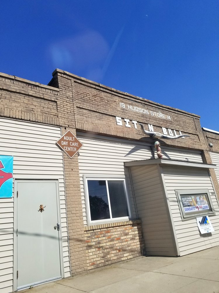 Sit N Bull Bar: 209 N Front St, Hudson, IL