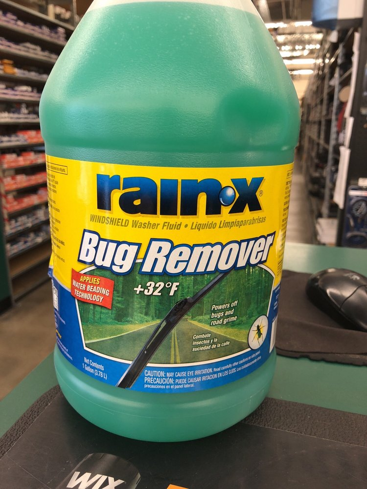 Rain X windshield fluid  Great in rainy days  - Yelp