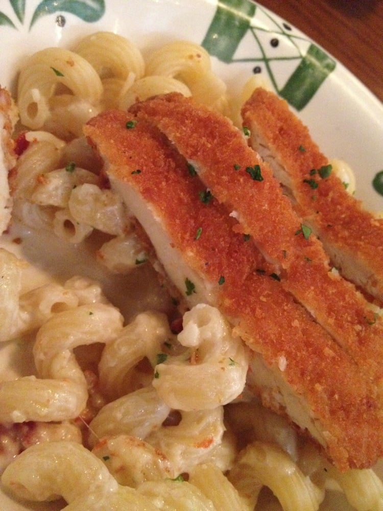 Cavatappi with asiago garlic alfredo and chicken fritta yelp - Olive garden reservations policy ...