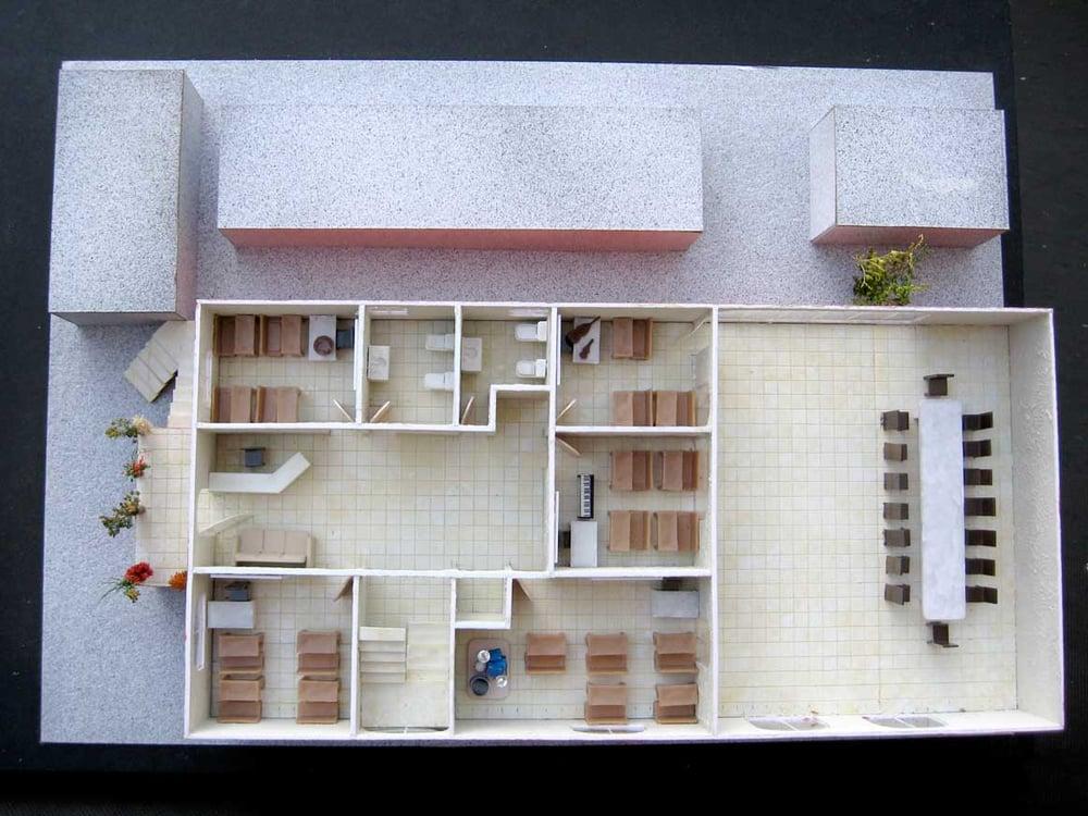 Maqueta de casa de una planta escala 1 50 yelp - Como hacer una maqueta de una casa ...