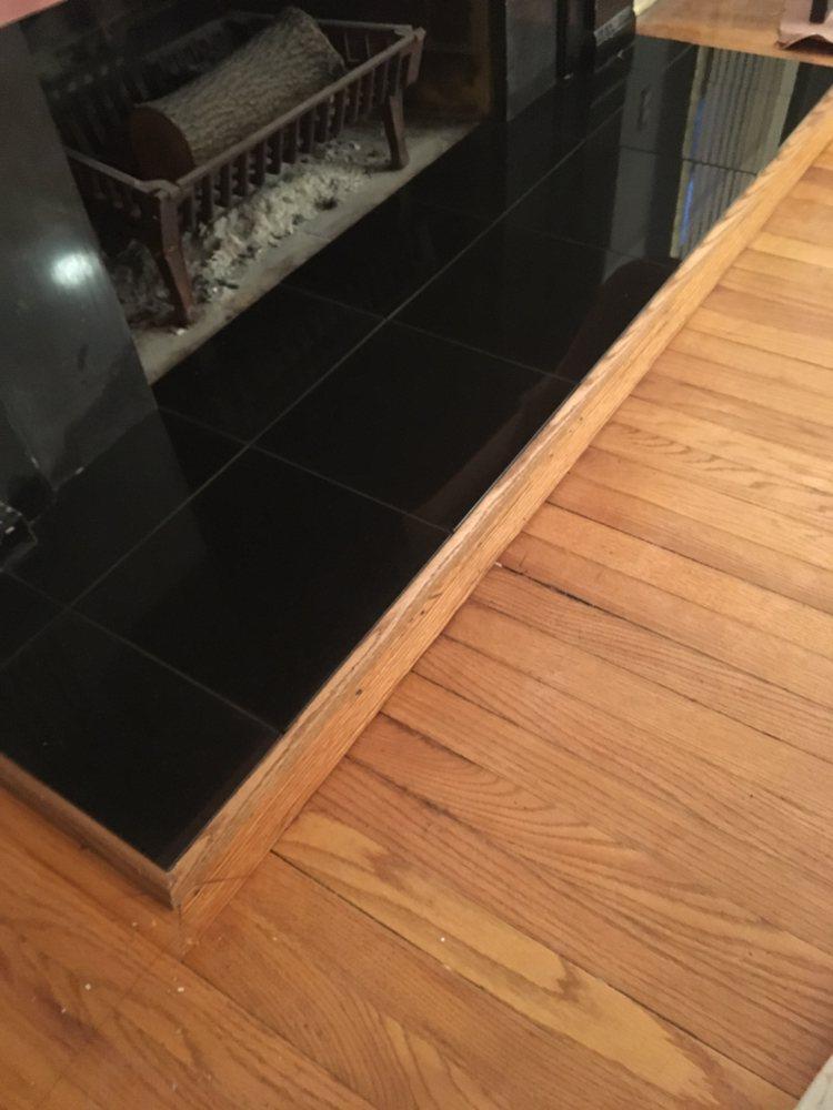 Granite Hearth With Matching Wood Trim Yelp