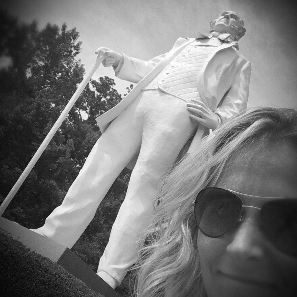 Sam Houston Statue Visitor Center: 7600 Hwy 75 S, Huntsville, TX