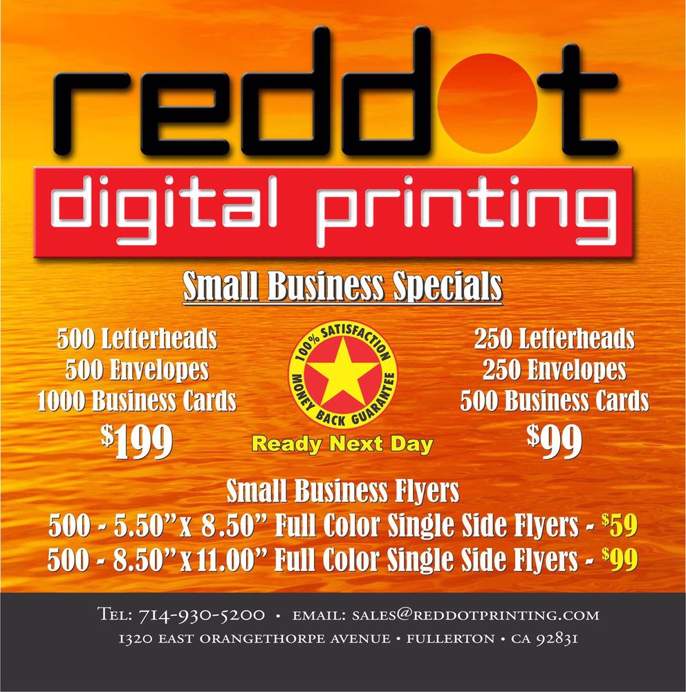 Red Dot Printing - 11 Photos - Printing Services - 1320 E ...