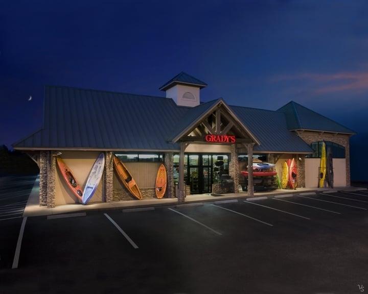 Grady's Great Outdoors: 3440 Clemson Blvd, Anderson, SC
