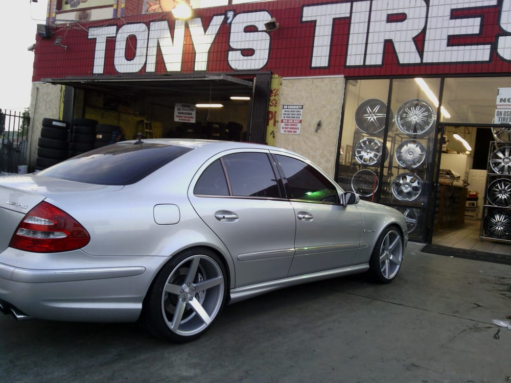 2005 mercedes benz e55 on 20 inch wheels concave design yelp for Mercedes benz 20 inch wheels