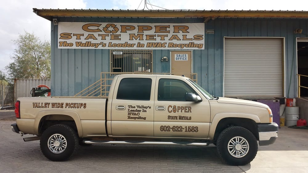 Copper State Metals: 22001 N 23rd Ave, Phoenix, AZ