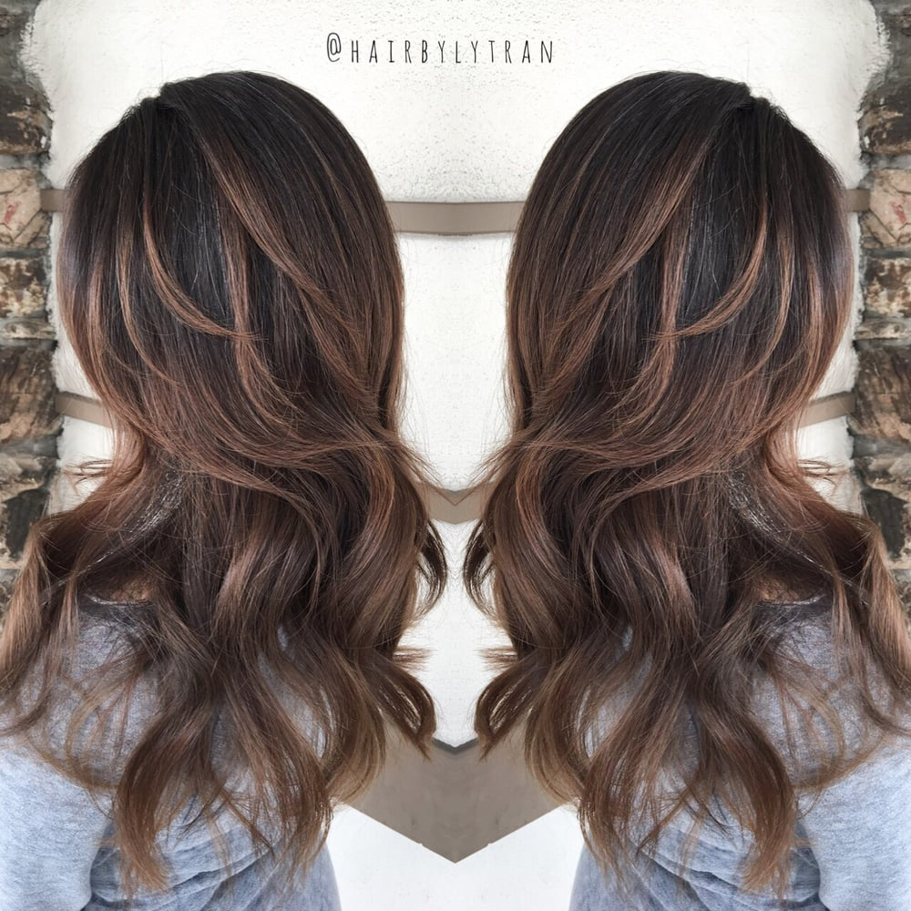 Photo Of Hair By Ly Tran Cupertino Ca United States From Black