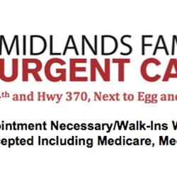 Midlands Family Urgent Care Urgent Care 312 Olson Dr Papillion