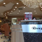 Photo Of Casa Blanca Nail Bar Charlotte Nc United States Reception Area
