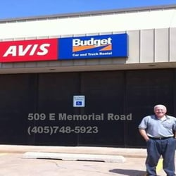 Avis Rent A Car In Oklahoma City