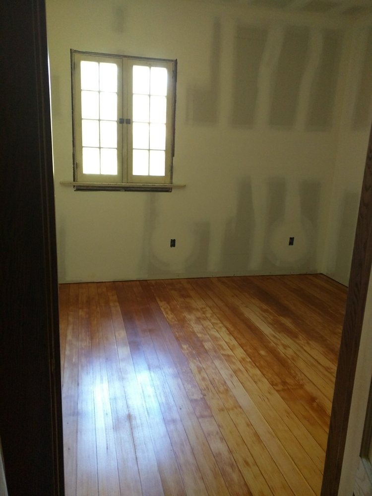 Original 1910 Douglas Fir Wood Floors Refinished By Mike Co