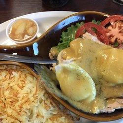 Photo Of Lep Restaurant Saint Joseph Mo United States Yummy Salmon Benedict