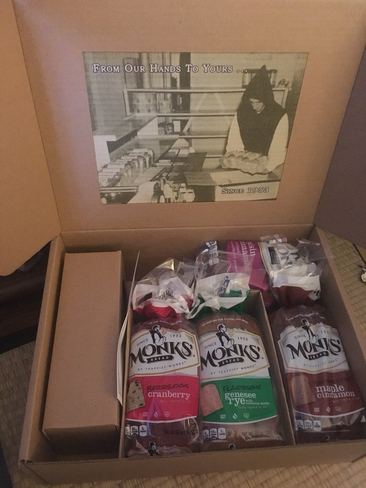 Monks' Bread: 3258 River Rd, Piffard, NY