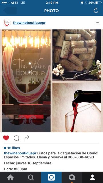 The Wine Boutique: Plaza de Isabela, Isabela, PR
