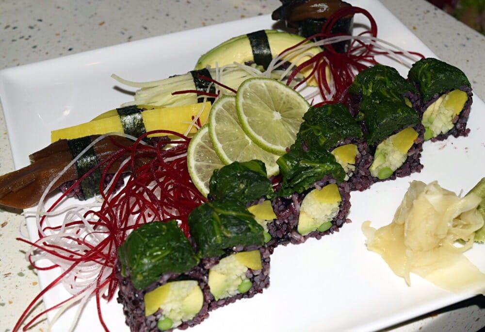 Veggie Sushi Lunch Plate Yelp