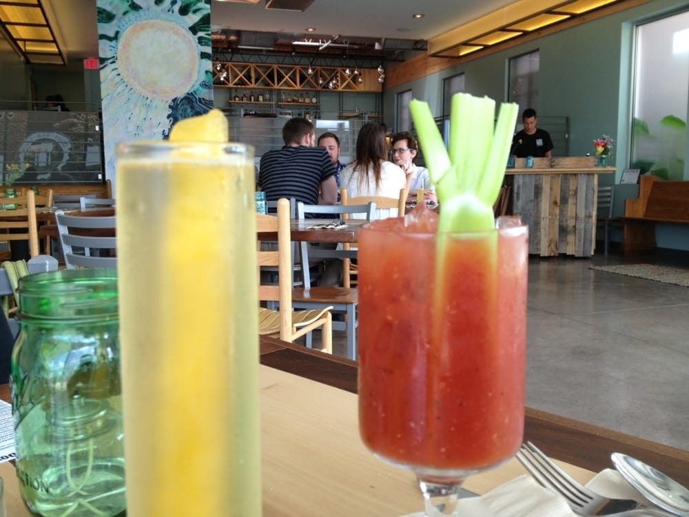 Sunday brunch bellini and bloody mary yelp for Food bar food harrisonburg virginia