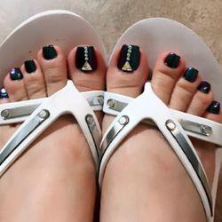 Nail art 105 photos 30 reviews nail salons 3114 n rainbow photo of nail art las vegas nv united states chrome toenails prinsesfo Images
