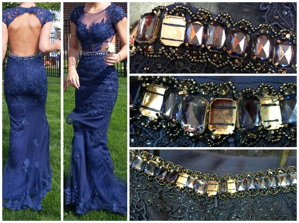 Diamonds fell off middle of Prom photos  Worst dress buying