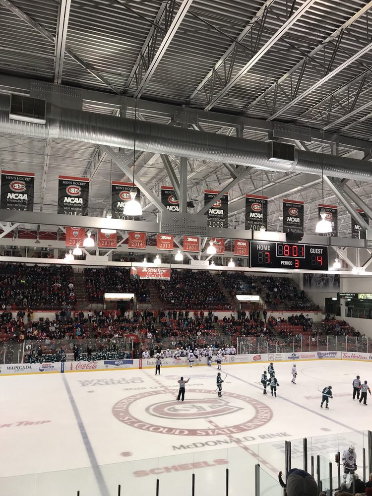 Herb Brooks National Hockey Center: 1204 4th Ave S, St Cloud, MN