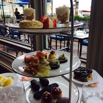 Photo Of Rowes Wharf Sea Grille Boston Ma United States Afternoon Tea