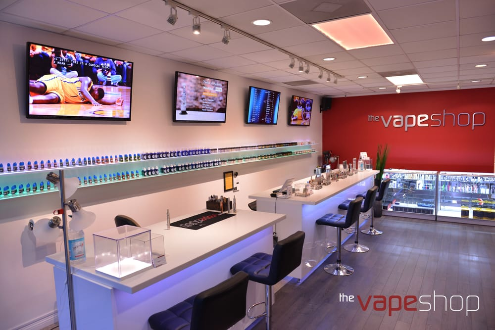 Vape Shop Interior Design
