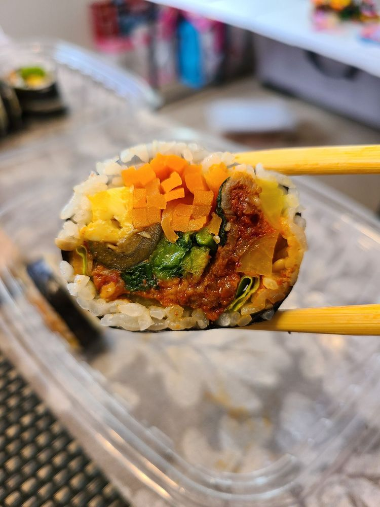 Food from The Kimbap