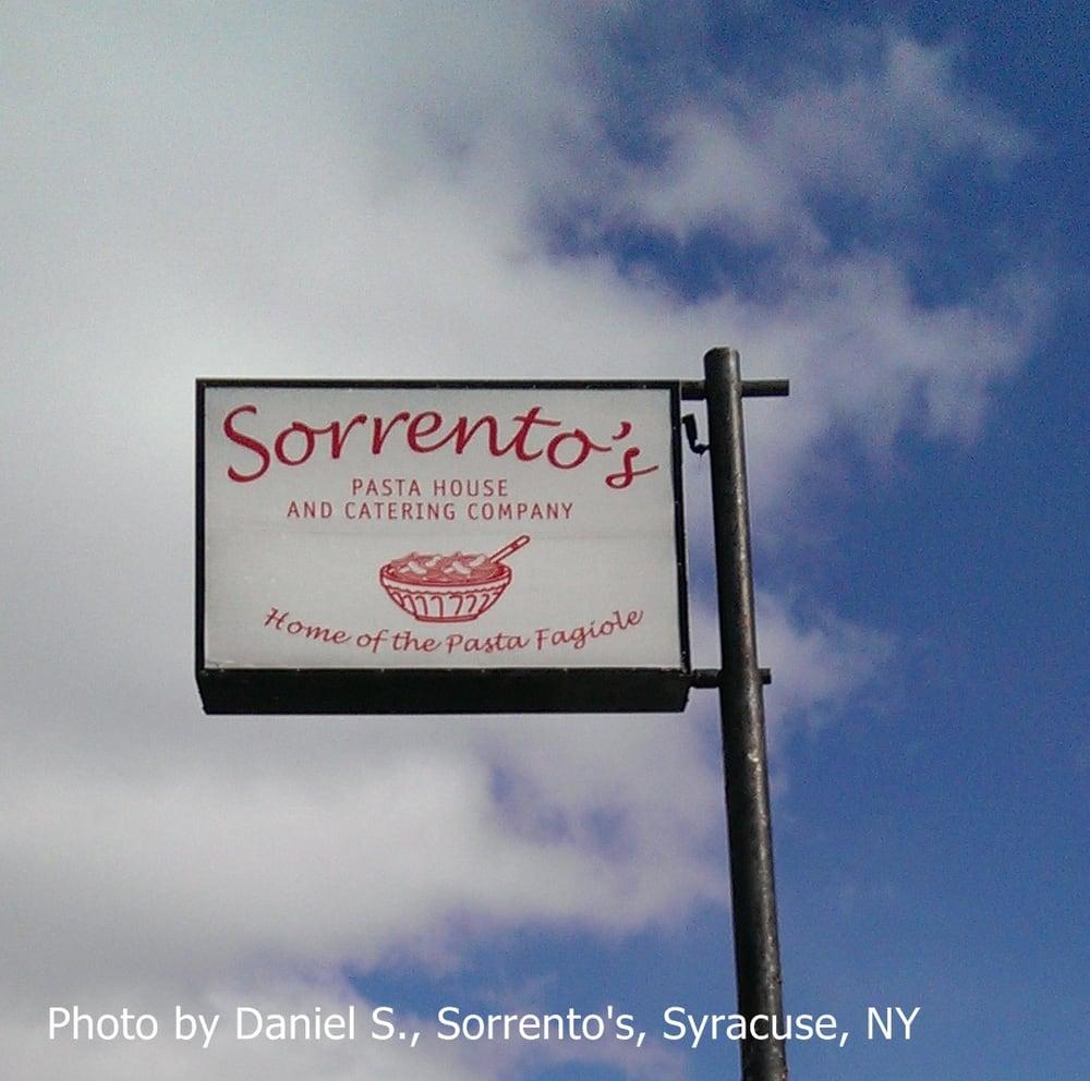Sorrento Restaurant Menu Syracuse Ny