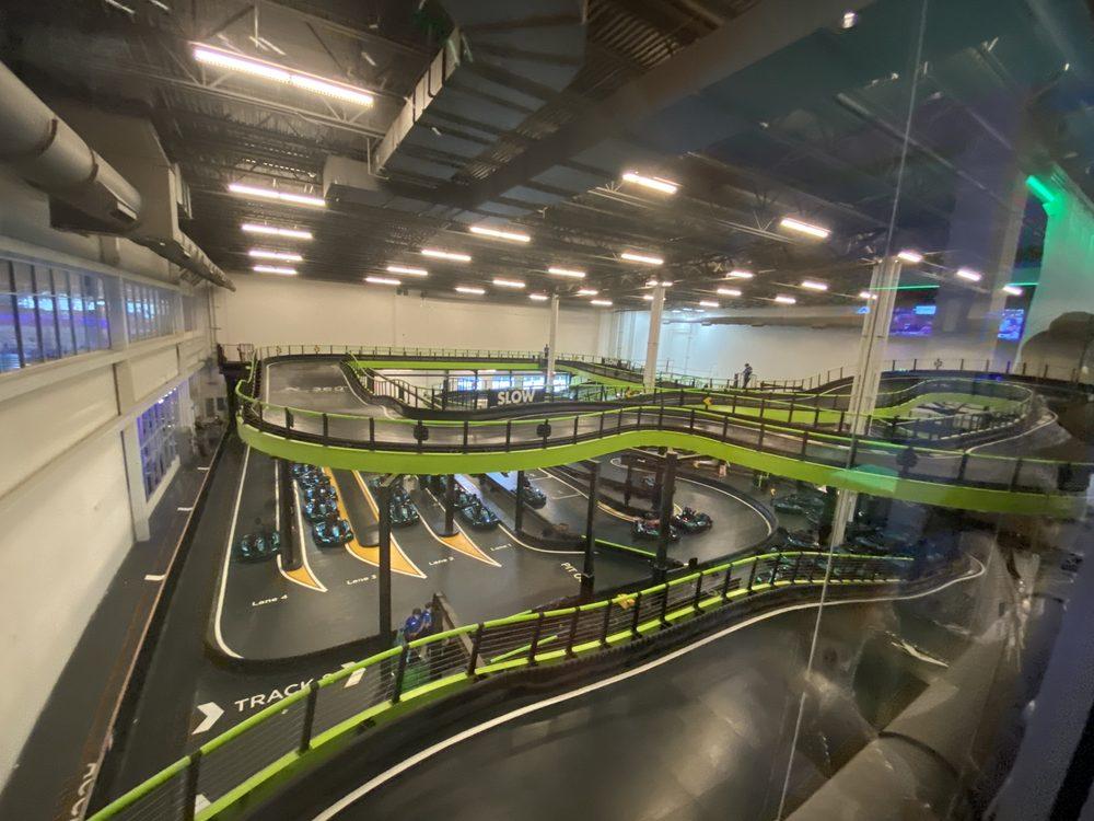 Andretti Indoor Karting & Games - The Colony: 5752 Grandscape Blvd, The Colony, TX