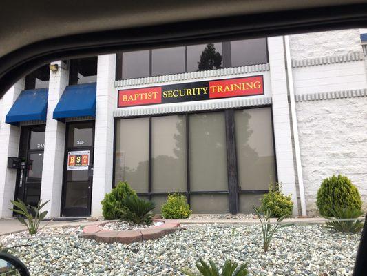 Baptist Security Training