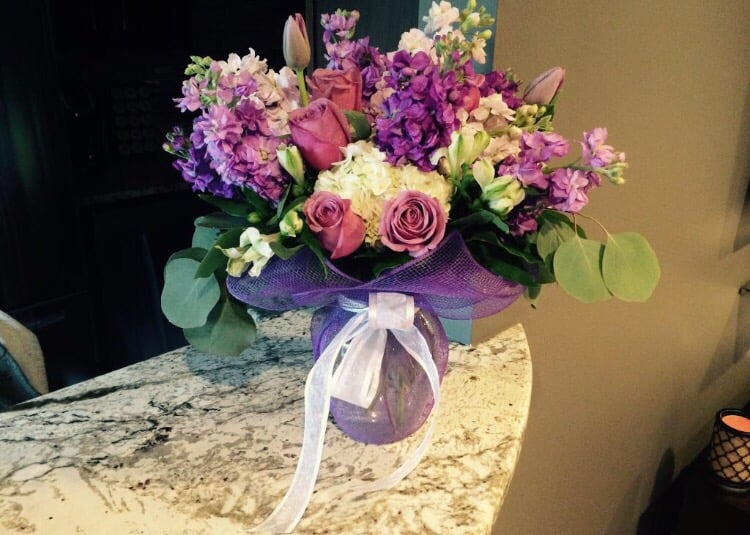 Purple Rose Florist