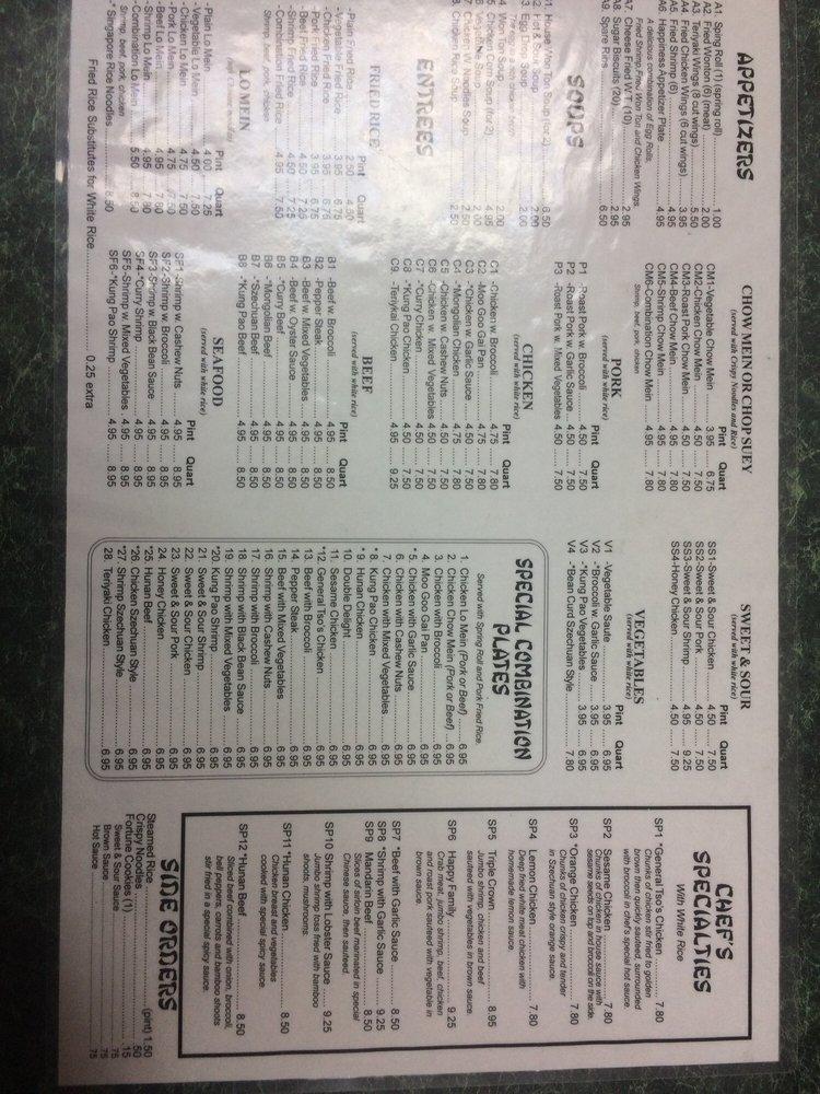 Hong Kong Express: 2660 Reidville Rd, Spartanburg, SC