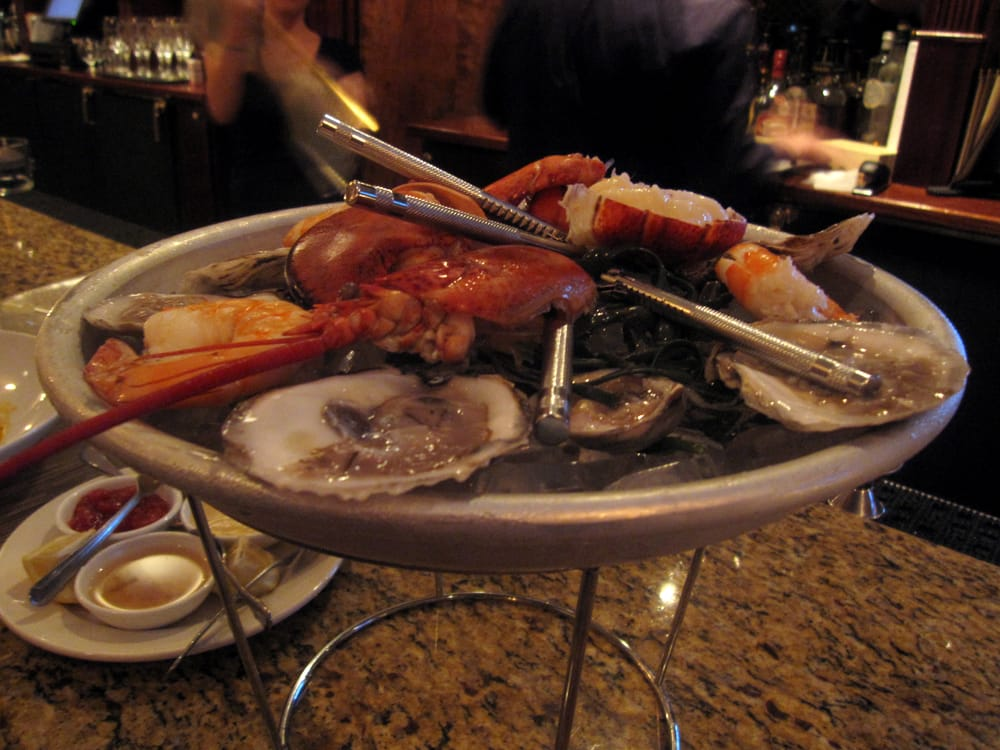 ... and queens platter (oysters, shrimp, stone crab claws, lobster) | Yelp