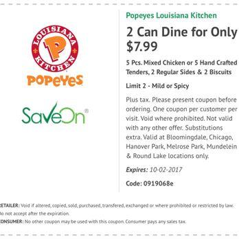 Popeyes Louisiana Kitchen Order Food Online 12 Photos 24