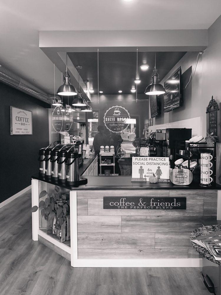 Suzie Brews Coffee Shop: 118 Newman St, East Tawas, MI
