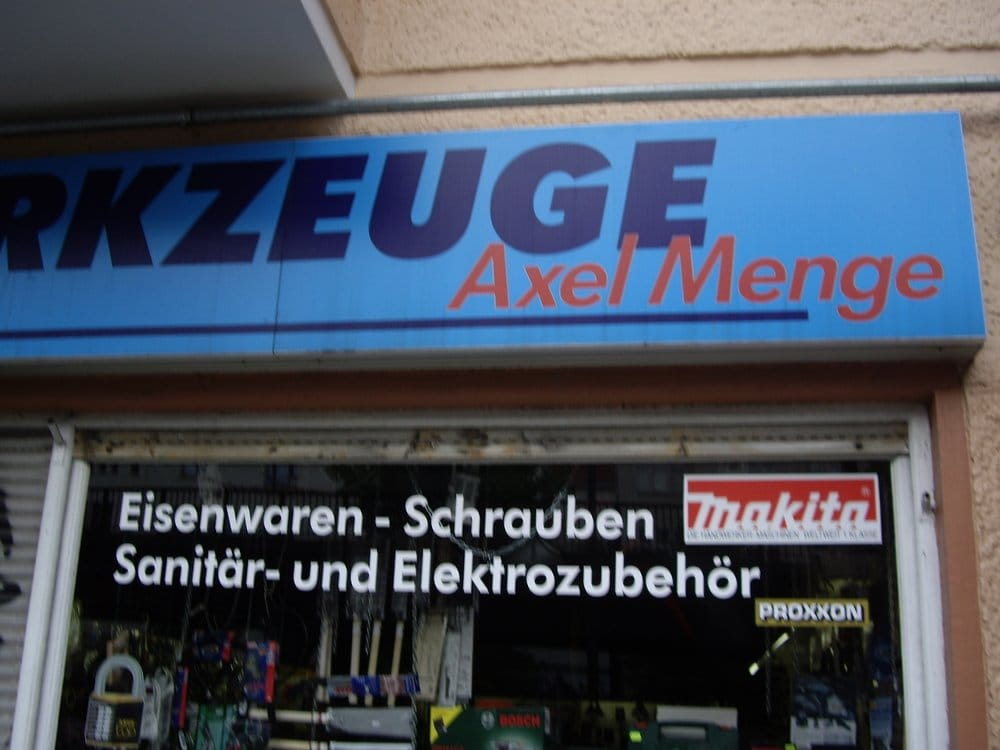 werkzeuge bei axel menge baumarkt baustoffe sch nhauser allee 61 prenzlauer berg berlin. Black Bedroom Furniture Sets. Home Design Ideas