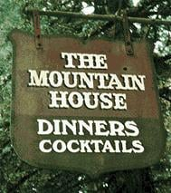 The Mountain House Restaurant restaurant