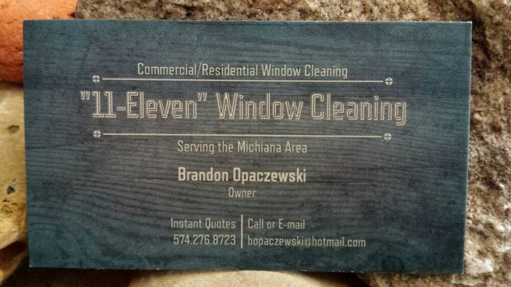"""11-Eleven"" Window Cleaning: South Bend, IN"