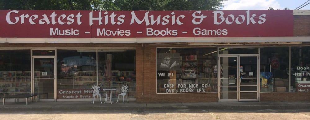 Greatest Hits Music & Books: 675 Main St, Tupelo, MS