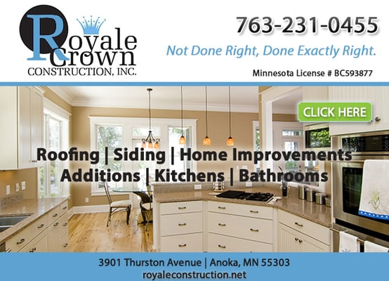 Photo of royale crown construction anoka mn united states ad powered by