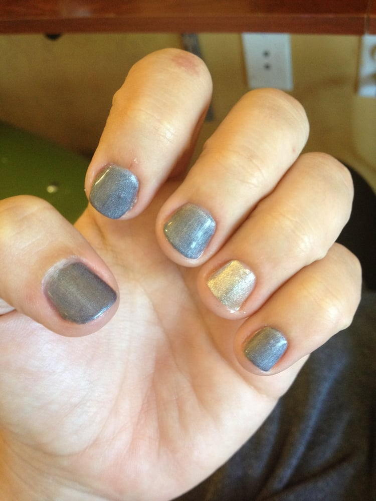 Gel Manicure On My Natural Nails
