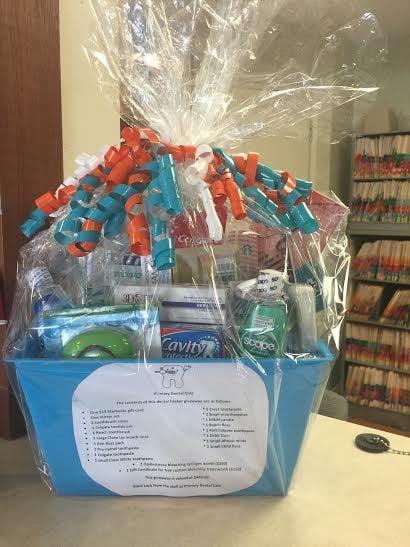 Primary Dental Office Is Raffling A Beautiful Gift Basket