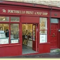 The Map Shop London.The Portobello Print Map Shop Antiques 109 Portobello Rd