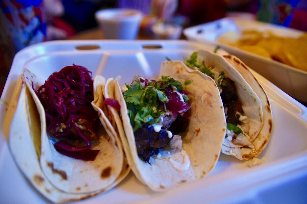 Food from Taco Luchador