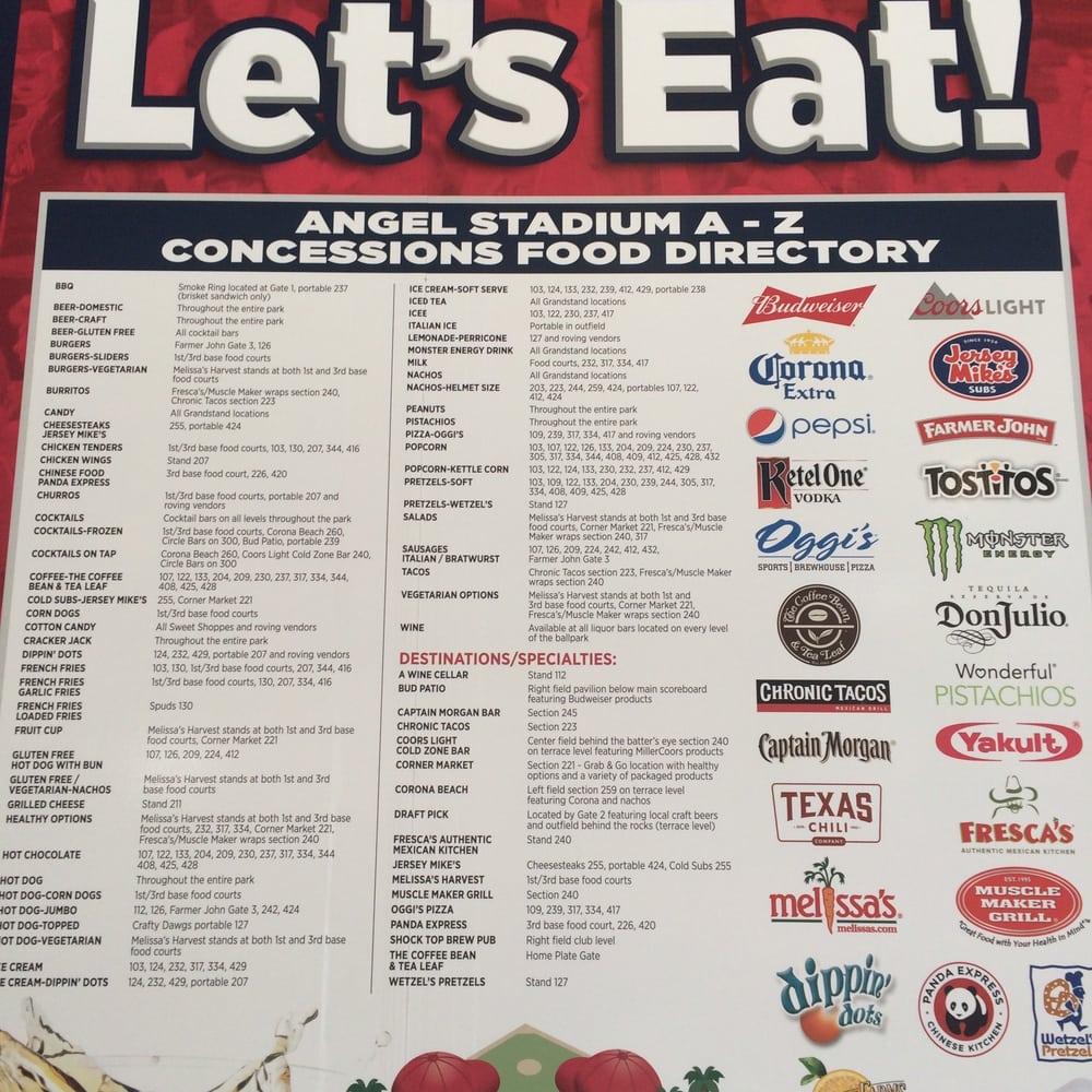 Photo Of Angel Stadium Anaheim Ca United States Food Directory
